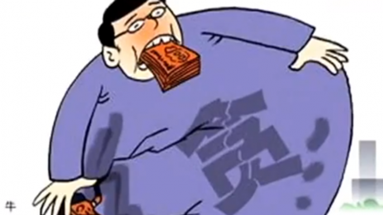 The image of the corrupt public official abounds in modern China