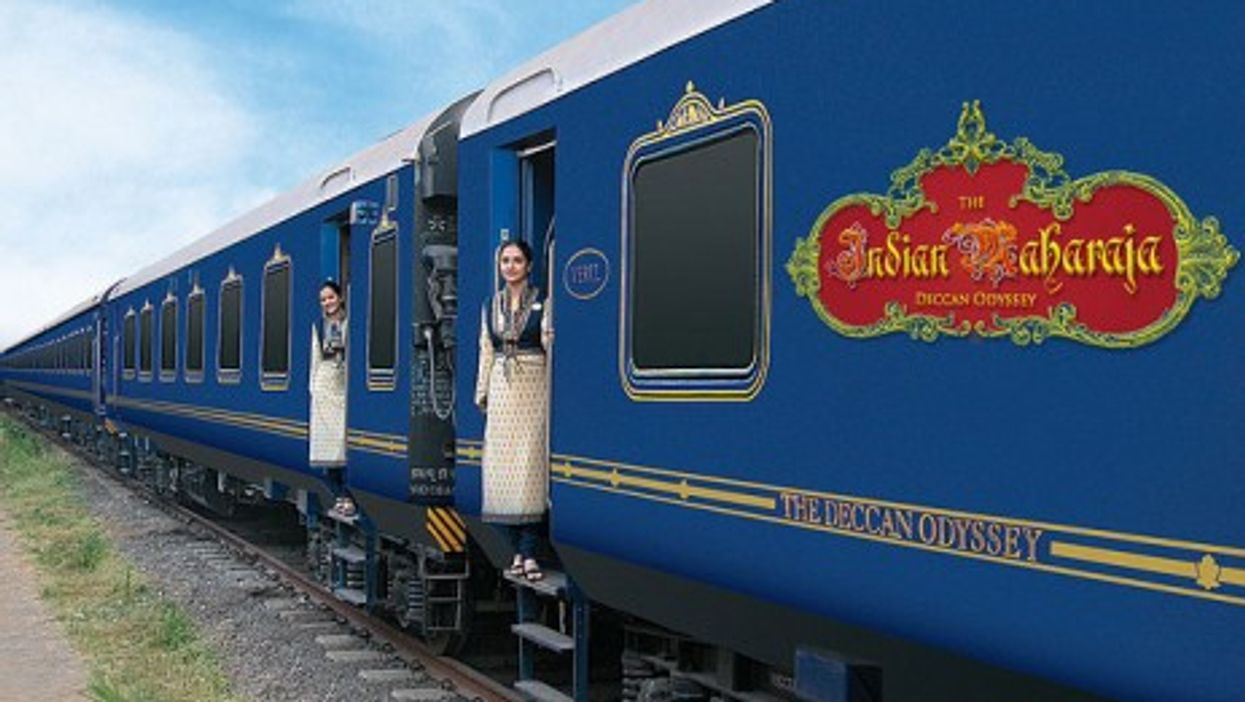 The Indian Maharaja train (Train Chartering & Private Rail Cars)