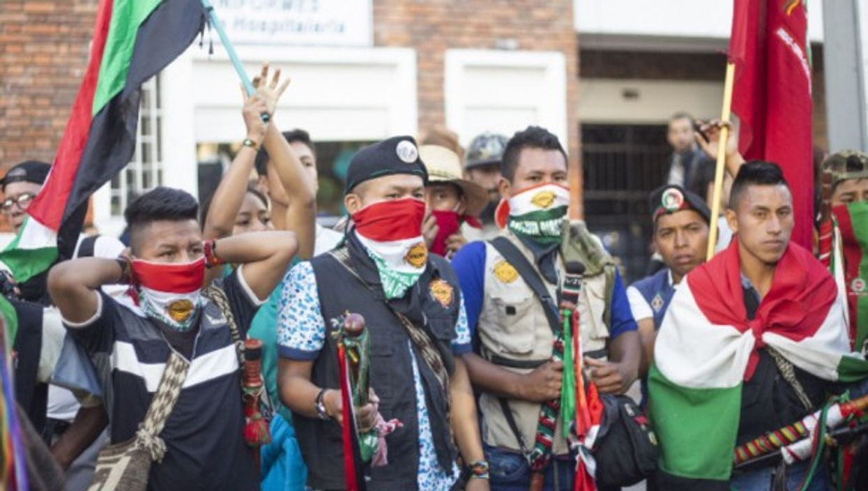 The indigenous guard of Cauca