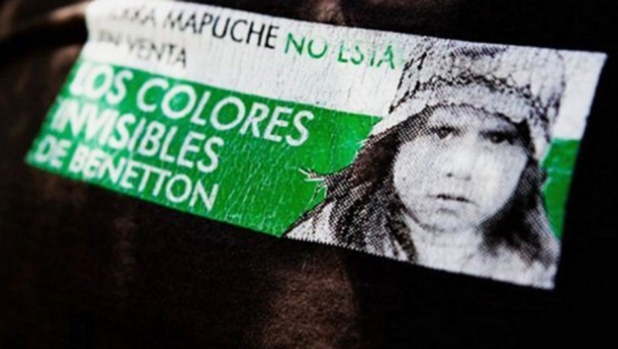 'The invisible colors of Benetton'