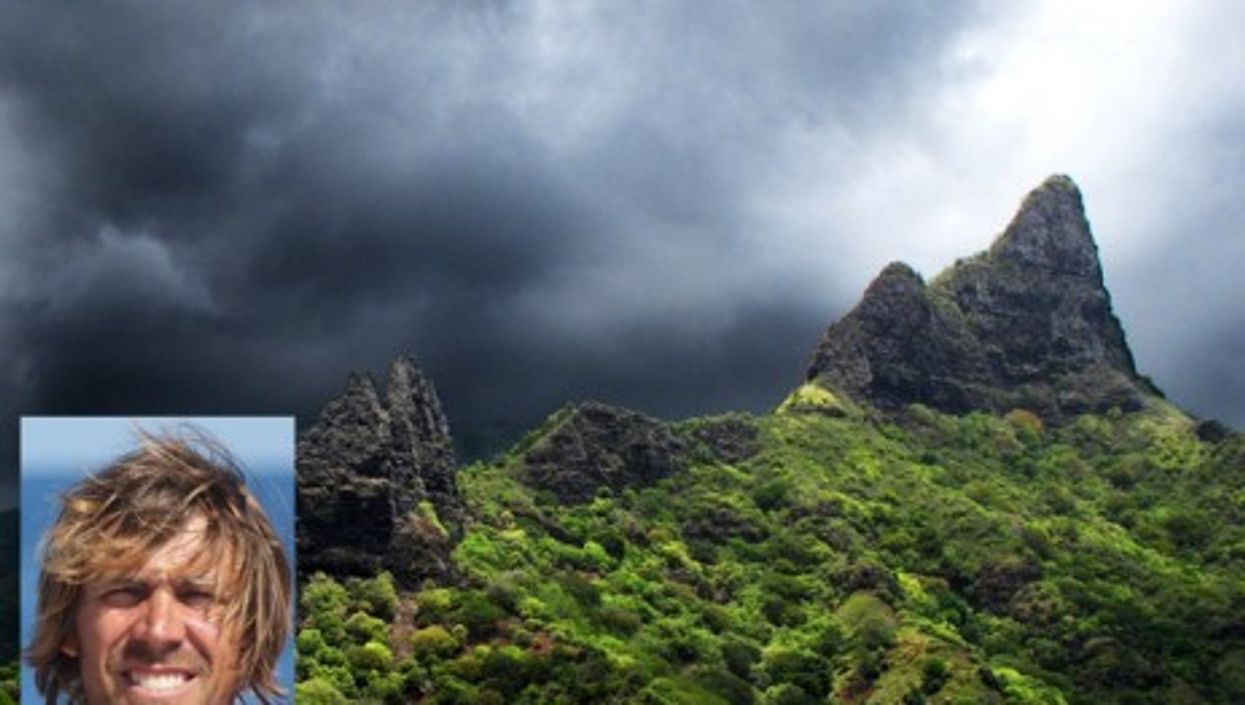 The island of Nuku Hiva and the missing German, Stephan R.