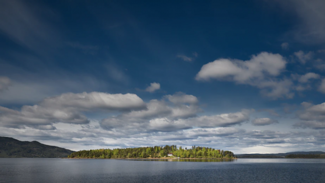 The island of Utøya, where a mass shooting took place on July 22, 2011