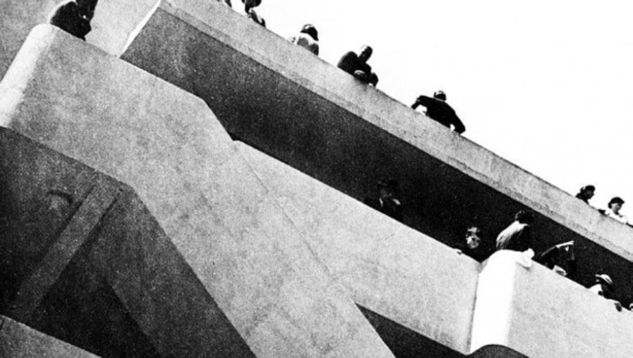 The Isokonbuilding  back in 1934