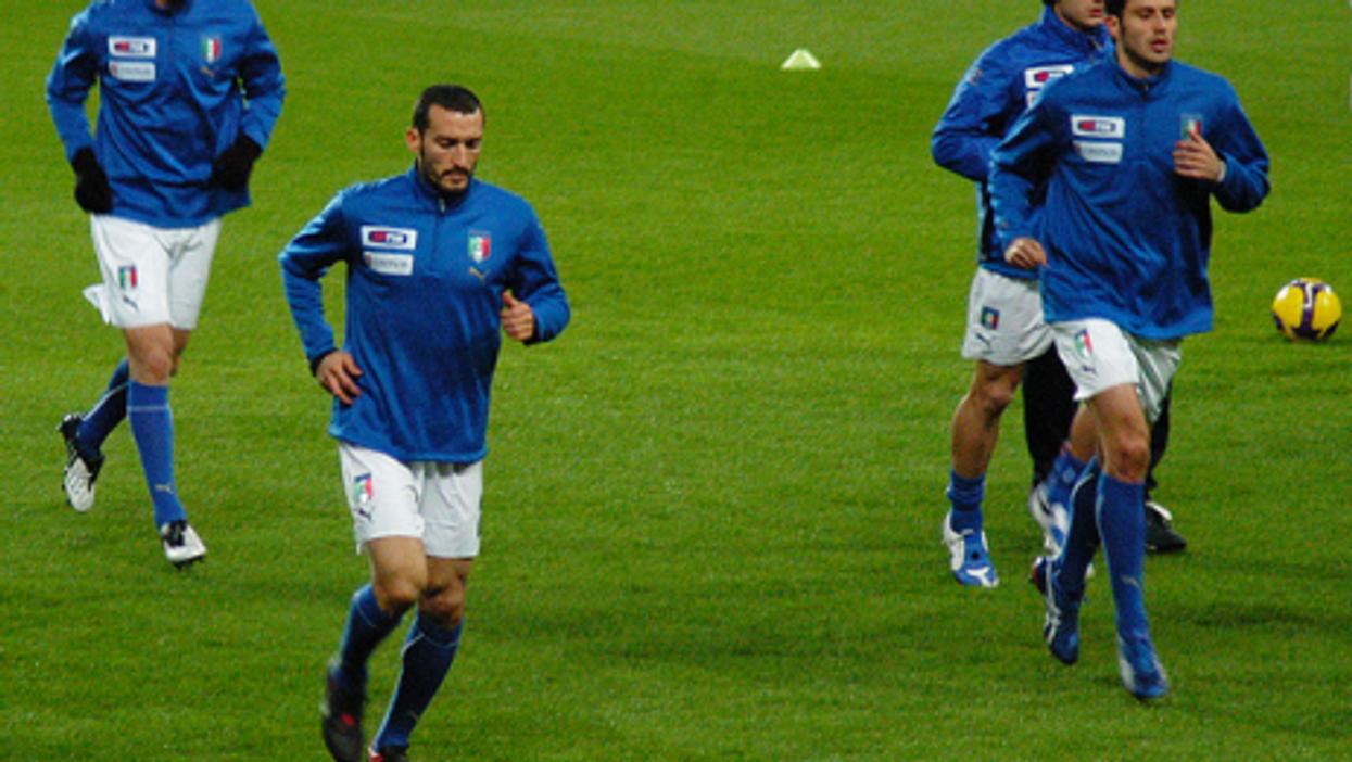 The Italian national team has won four World Cups (crystiancruz)