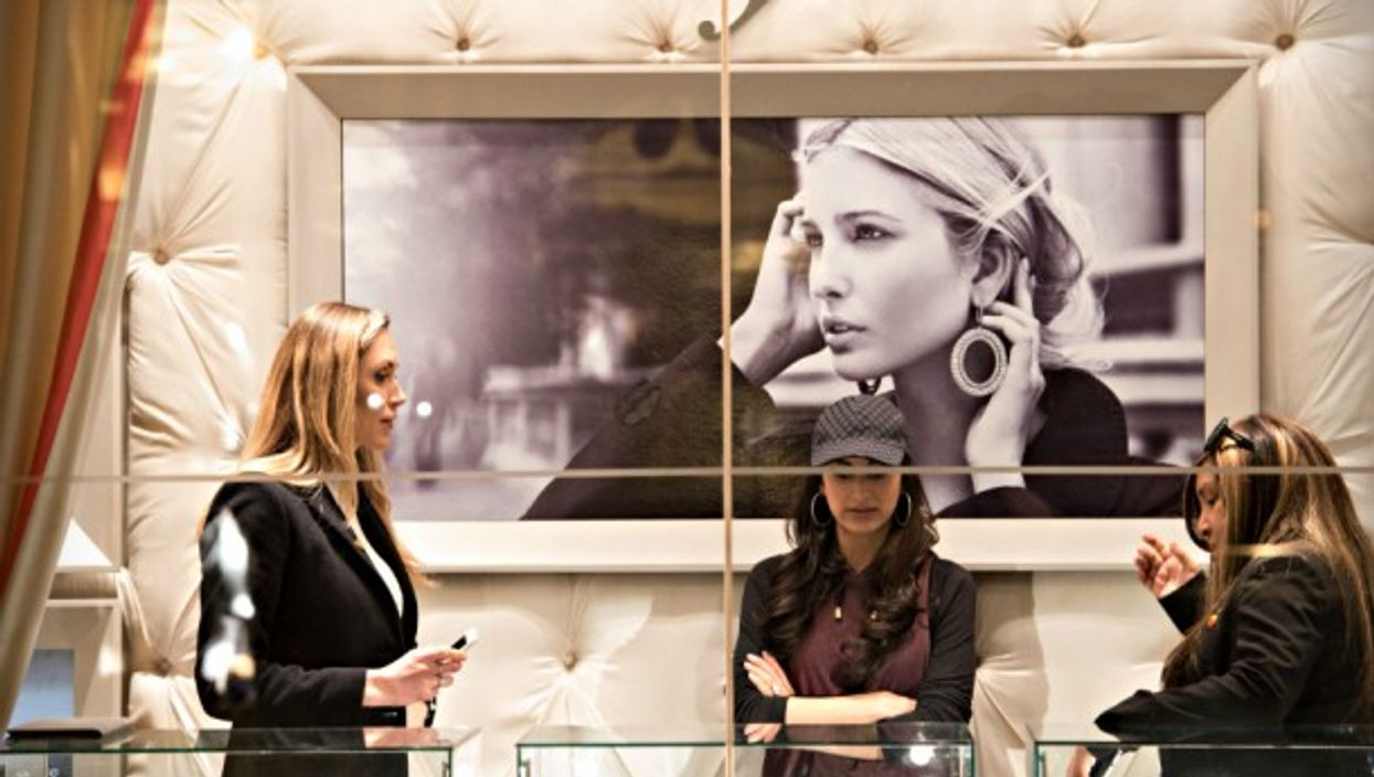 The Ivanka Trump boutique inside Trump Tower in NYC