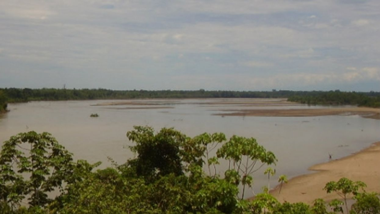 The Japura river