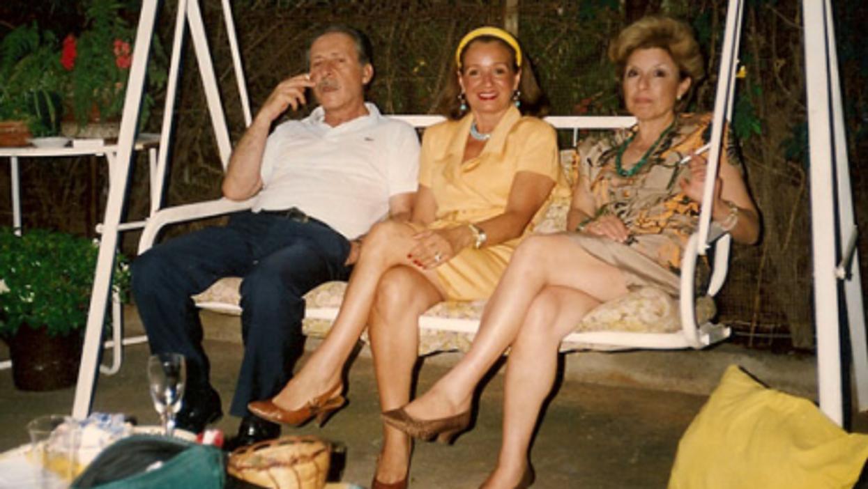 The last known photo of Borsellino alive