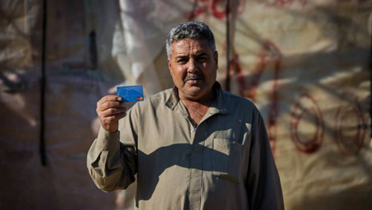 The Lebanon Cash Consortium began to provide cash assistance to refugees two years ago