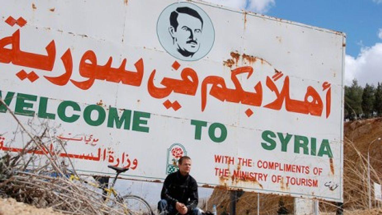 The Lebanon-Syria border (Paul Keller)