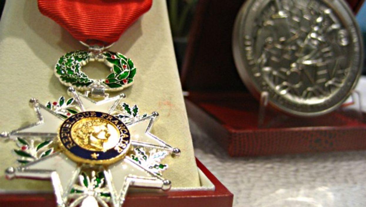 The Legion of Honor, France's highest order of merit