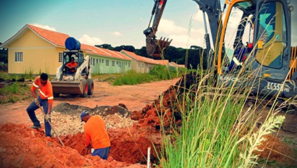The Minha Casa, Minha Vida program in Piraquara, in the state of Paraná