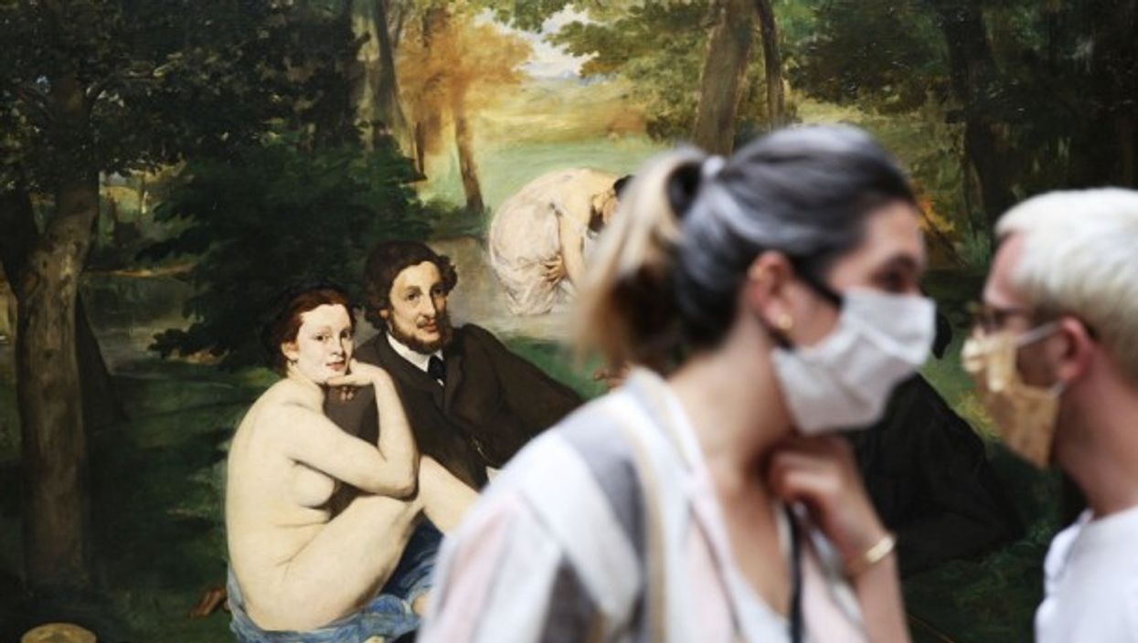The Musee d'Orsay reopened to the public in Paris in June