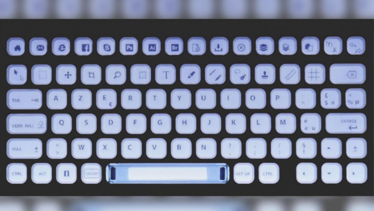 The Nemeïo keyboard is 100% customizable