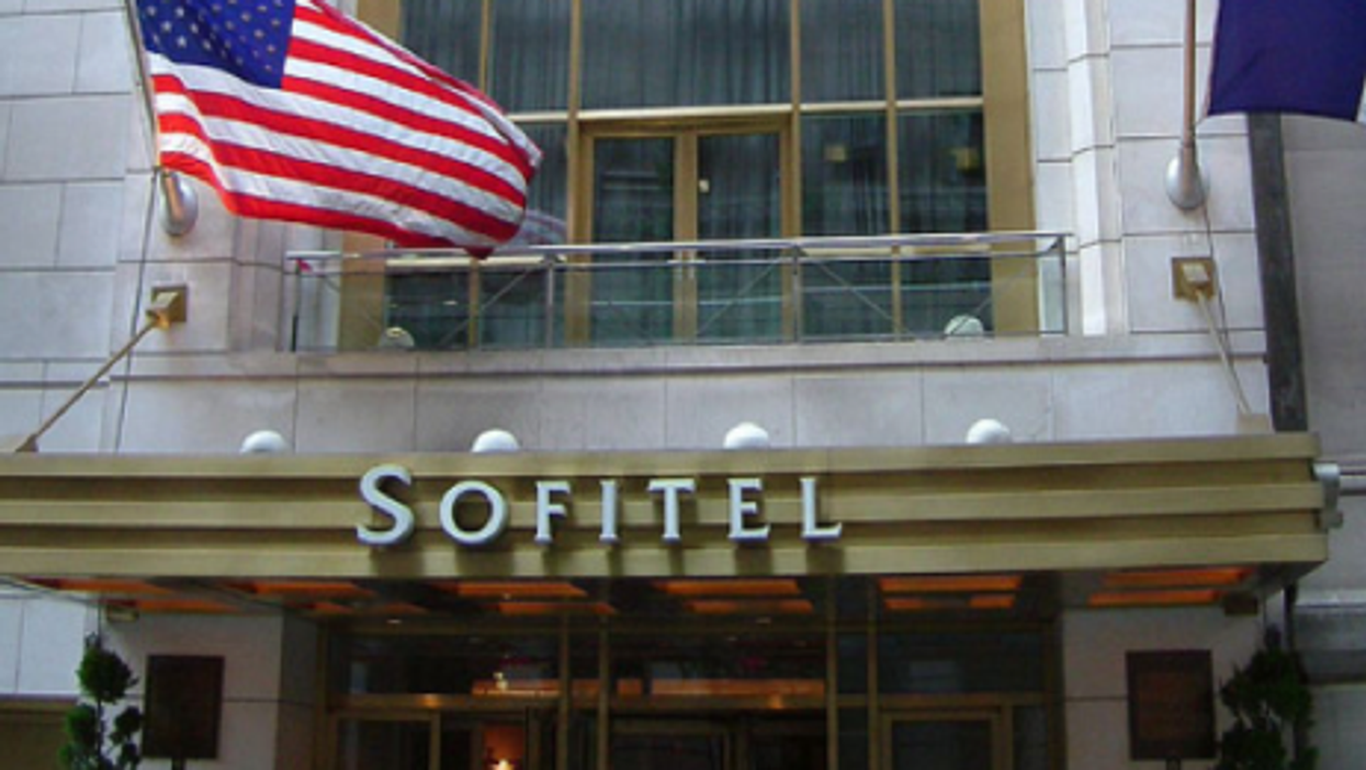 The New York hotel where Strauss-Kahn's accuser said he attacked her (Rob Young)
