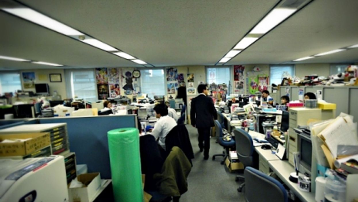 The office lives in Japan