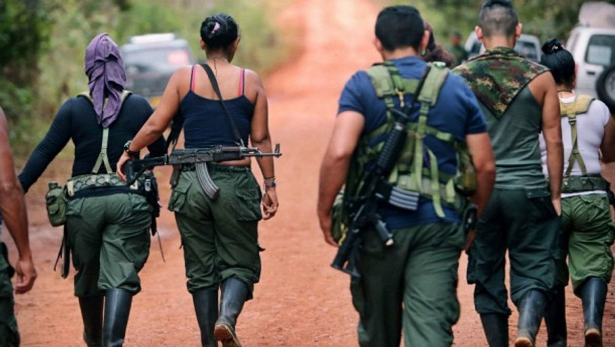 The paramilitary phenomenon remains a threat in Colombia