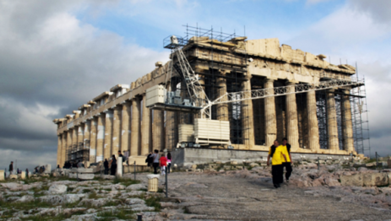The Parthenon in Athens (Kevin Poh)
