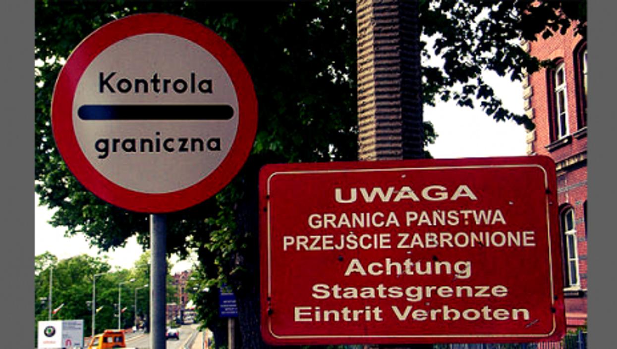 The Polish-German border