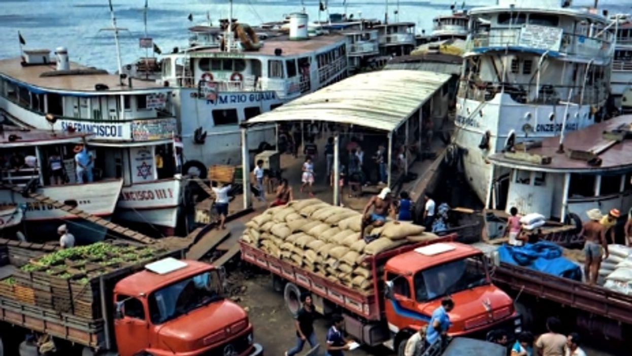 The port of Manaus, Brazil