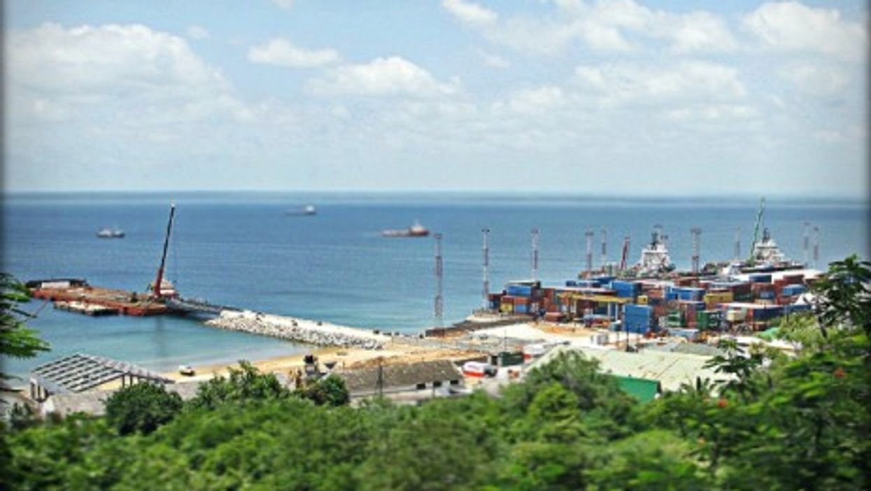 The port of Pemba