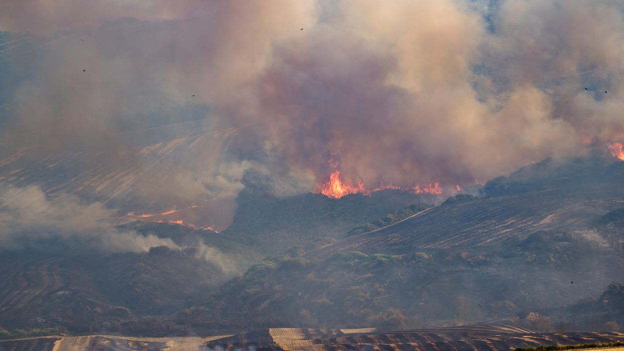 A Picturesque, Damning View Of Our Wildfire Planet