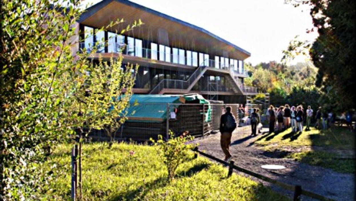 The Rudolf Steiner school near Lausanne