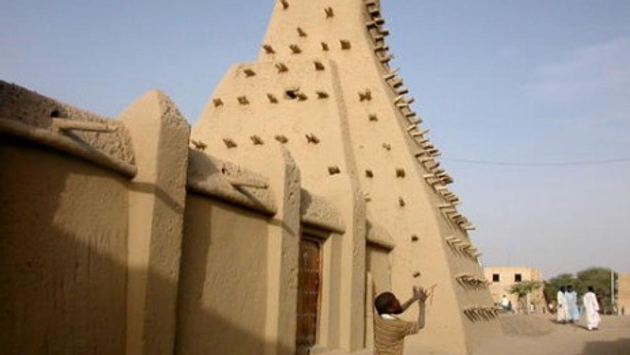 The Sankore Mosque in Timbuktu (UNESCO/WHC)