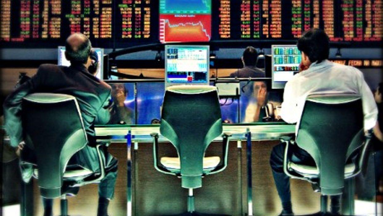 The Sao Paulo stock exchange