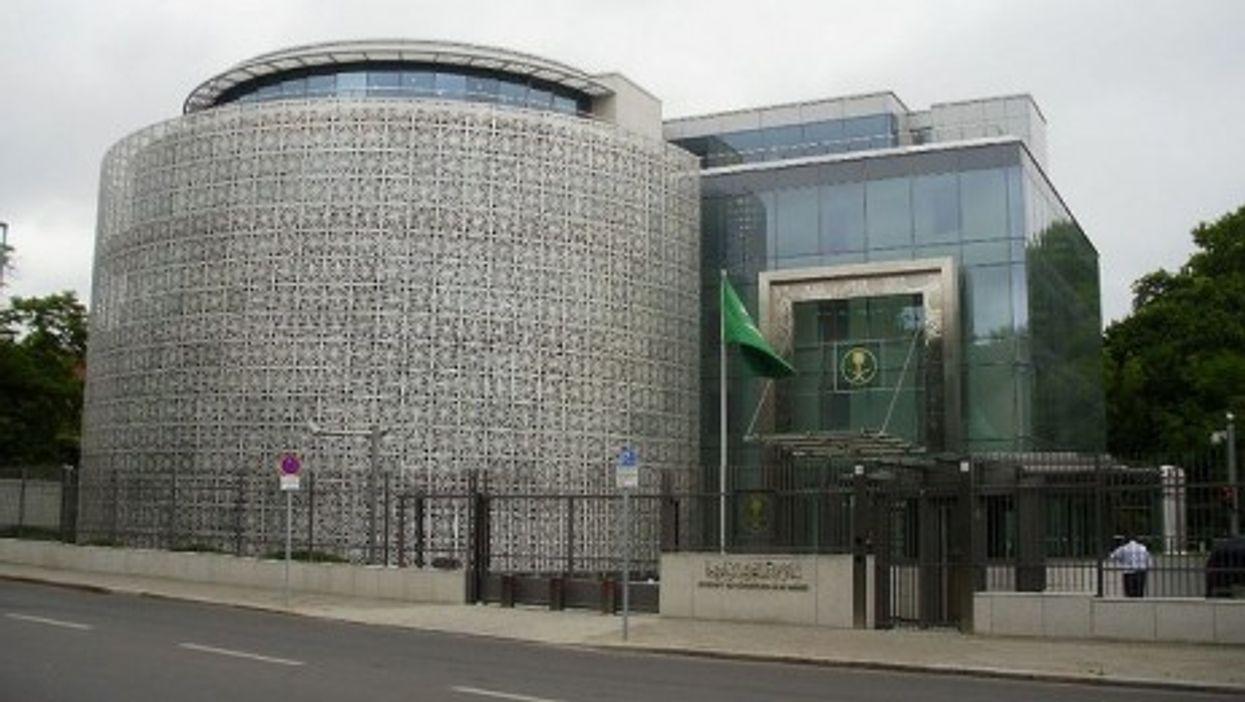 The Saudi Arabian Embassy in Berlin, Germany (sporst)