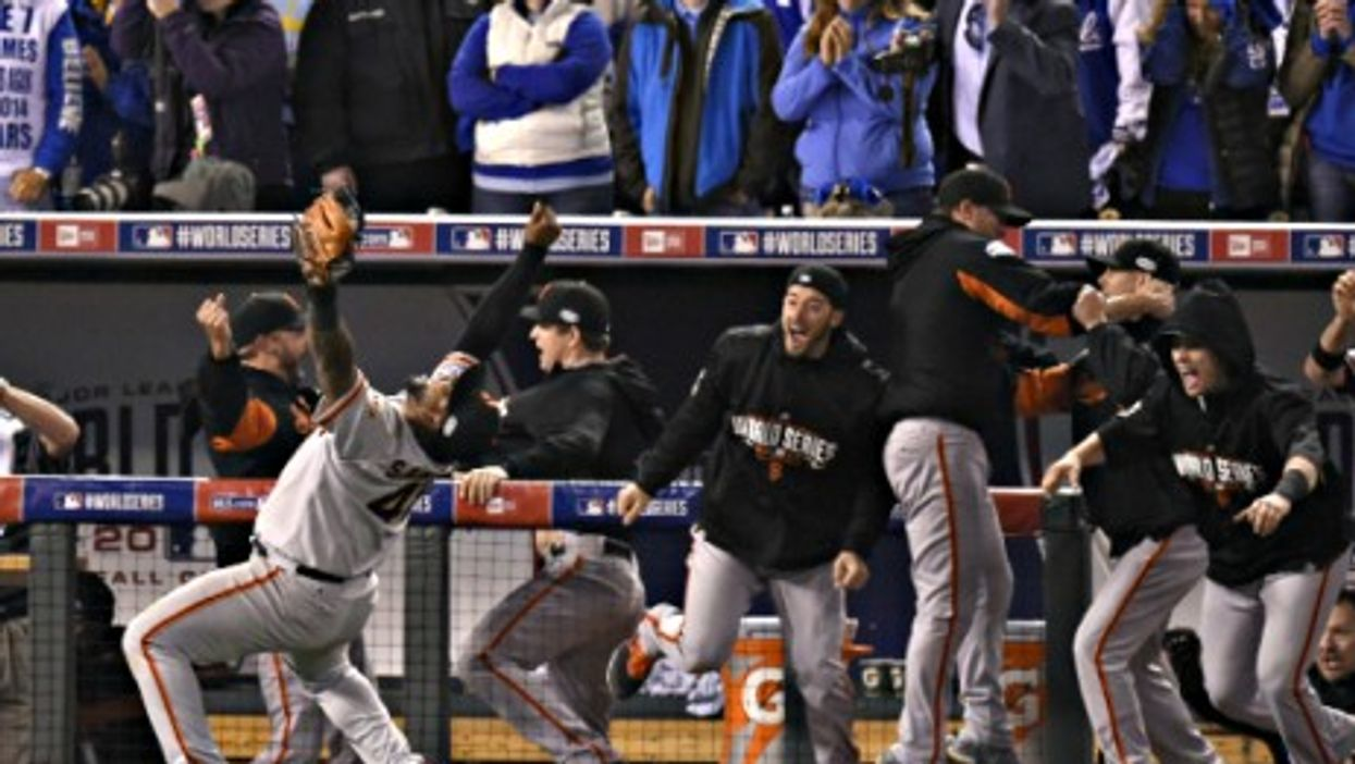The SF Giants defeated the Kansas City Royals Wednesday to win the World Series