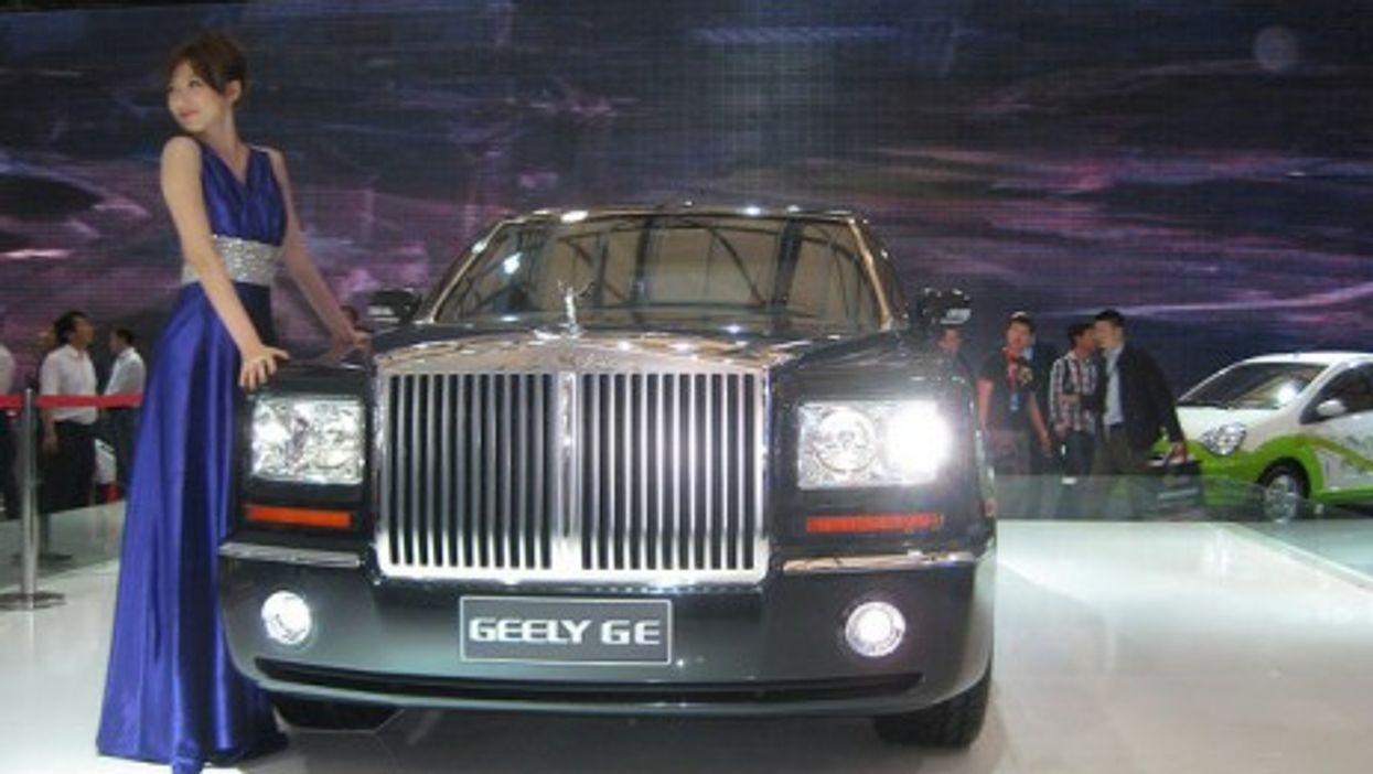 The Shanghai Auto Show