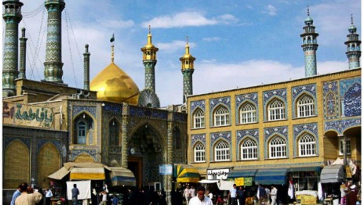The shrine of Fatima al-Masumeh in Qom
