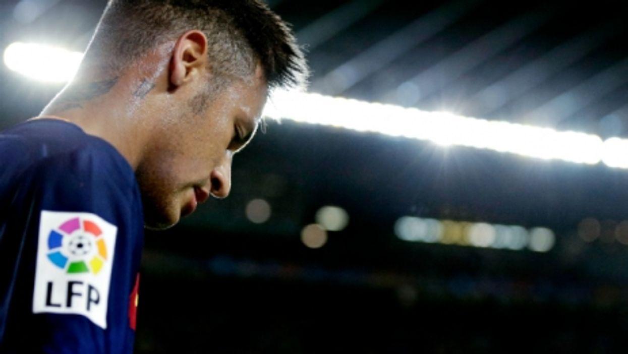 The soccer star Neymar