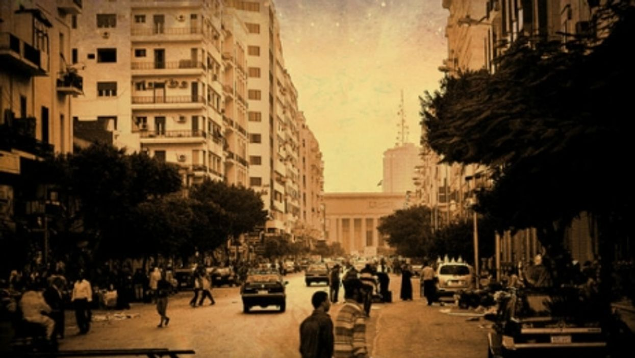 The streets of Cairo