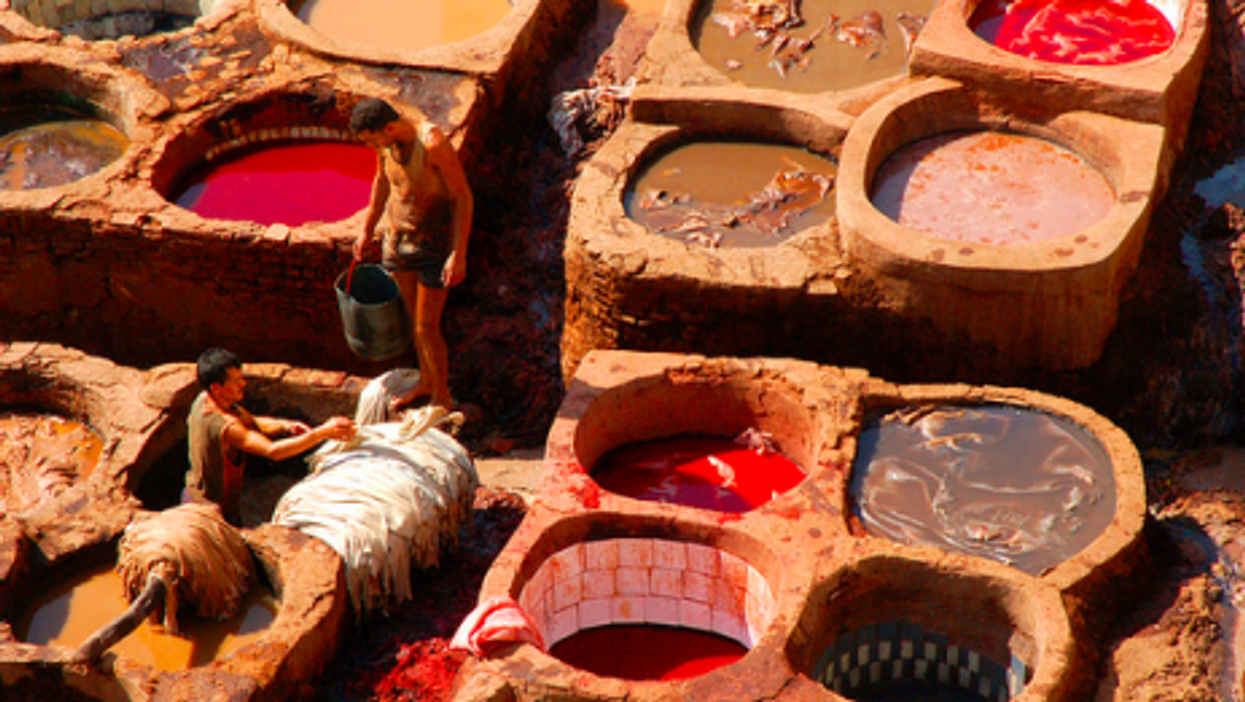 The tanneries of Fez