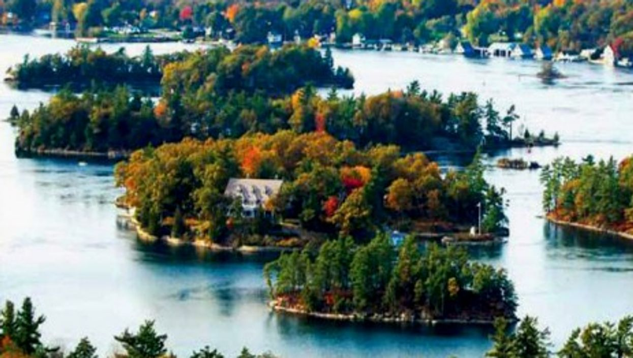 The Thousand Islands in upstate New York: pick one