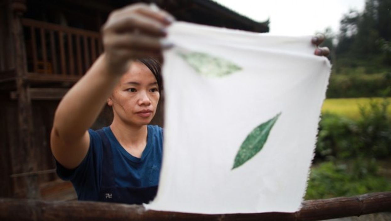 The topic of sanitary napkinshas somehowgone viral in China