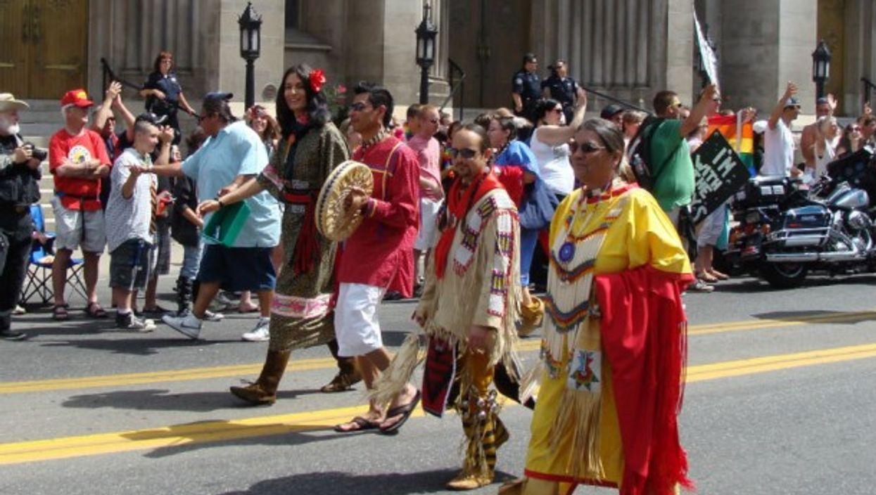 The Two Spirit Society during PrideFest in Denver