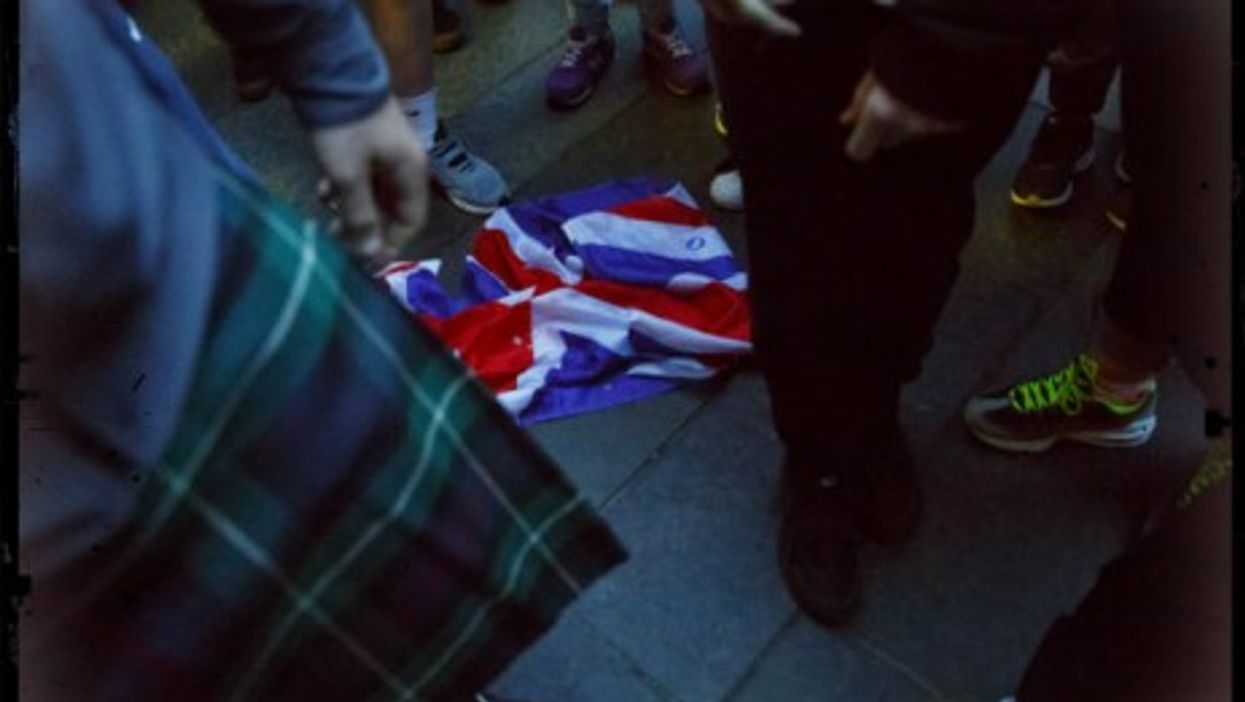 The Union Jack is down, unity notwithstanding.