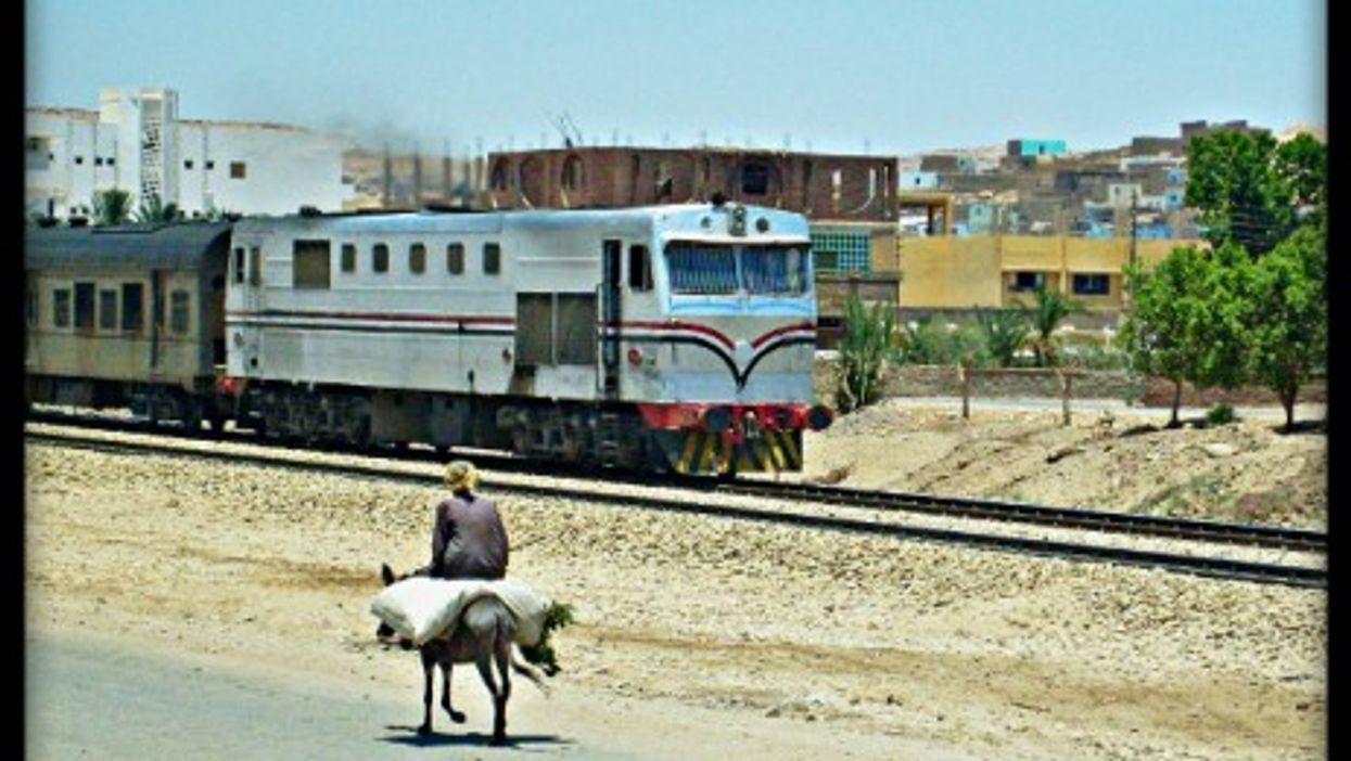 The Upper Egypt line near Aswan