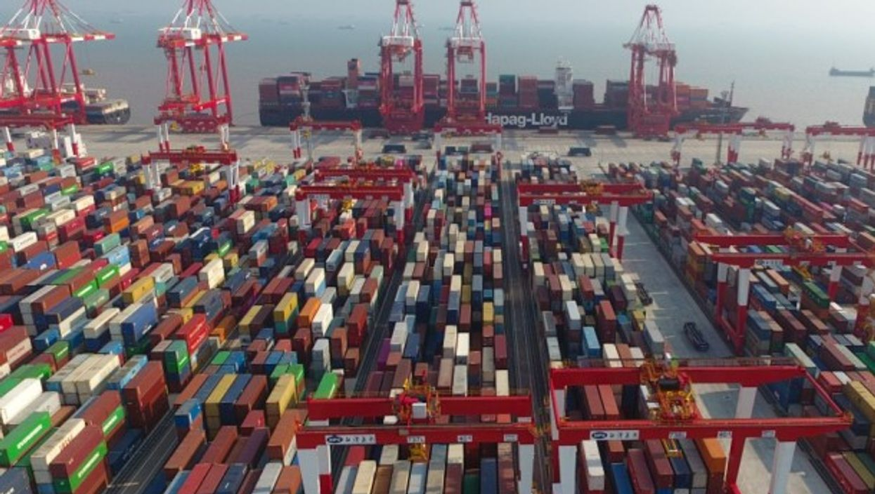 The USMCA targets China's trading prowess, through arms such as the Yangshan Deepwater Port