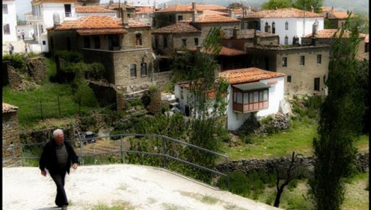 The village of Tepekoy, Gökçeada
