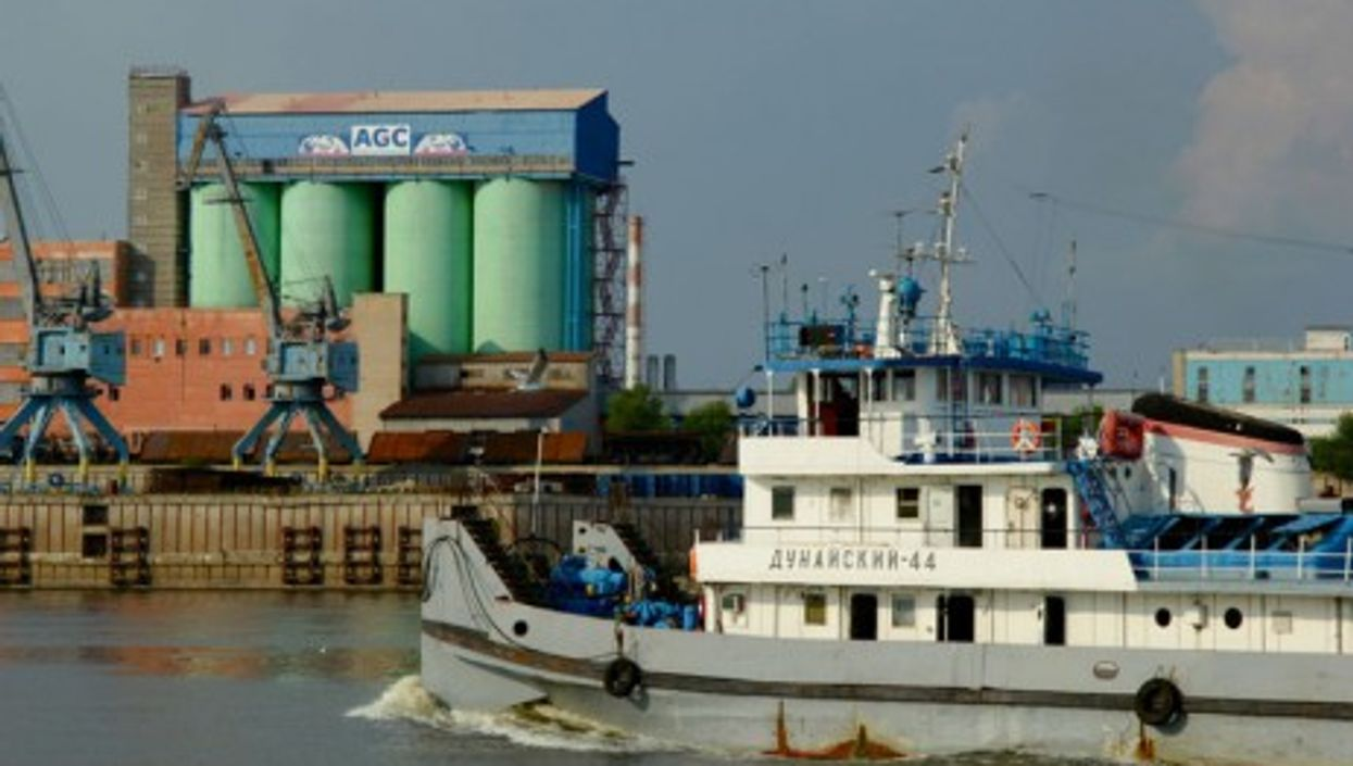 The Volga River in Nizhny Novgorod