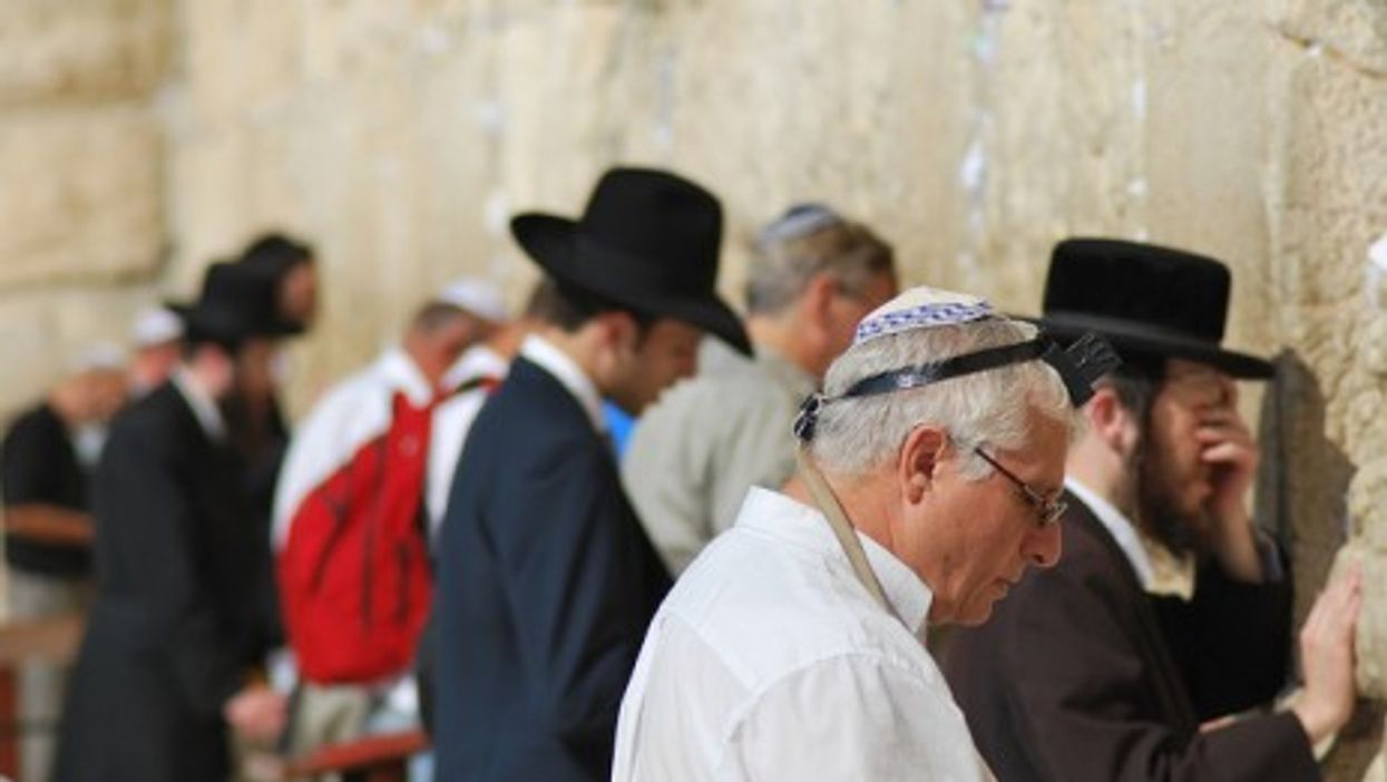 The Wailing Wall in Jerusalem (Bertrand Hauger)