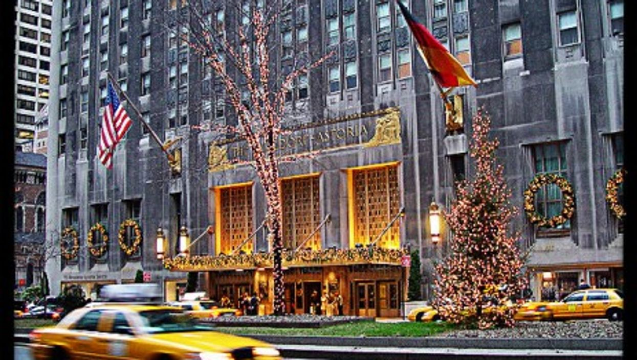 The Waldorf-Astoria hotel is now in Chinese hands.