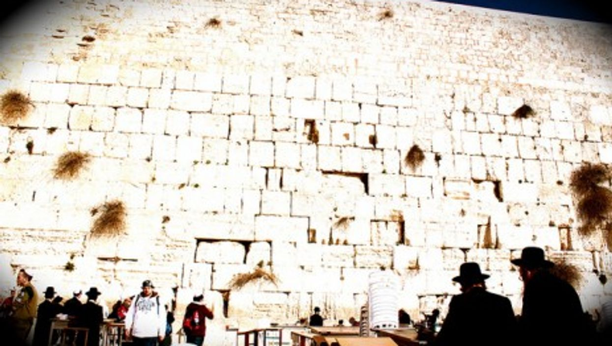 The Western Wall in Jerusalem (DavidSpinks)