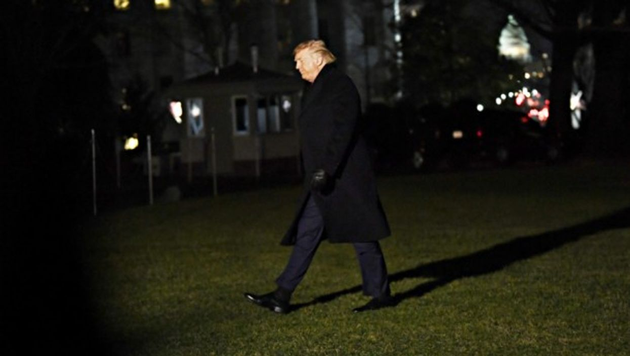 The wind of impeachment, on Dec. 19