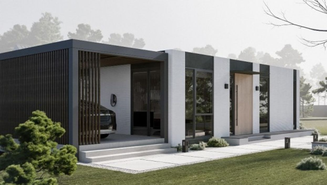 The world's first community of 3D-printed zero net-energy homes will be built in Rancho Mirage, California.
