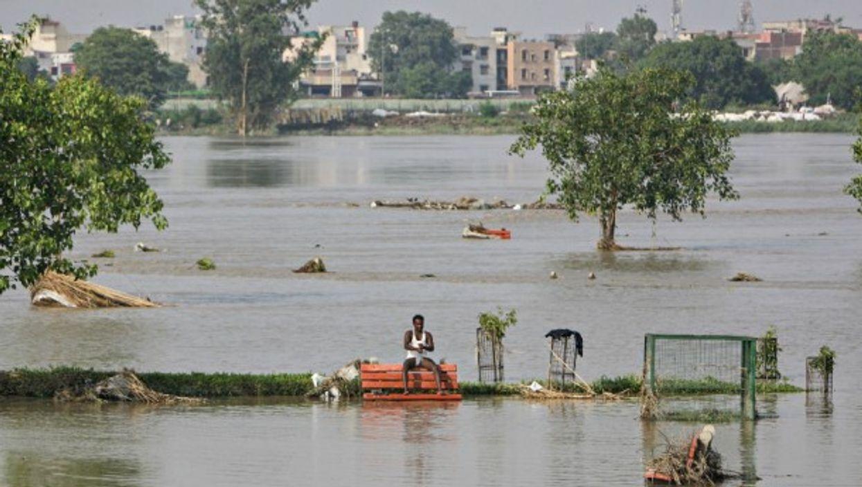 The Yamuna river in New Delhi, India, June 20, 2013