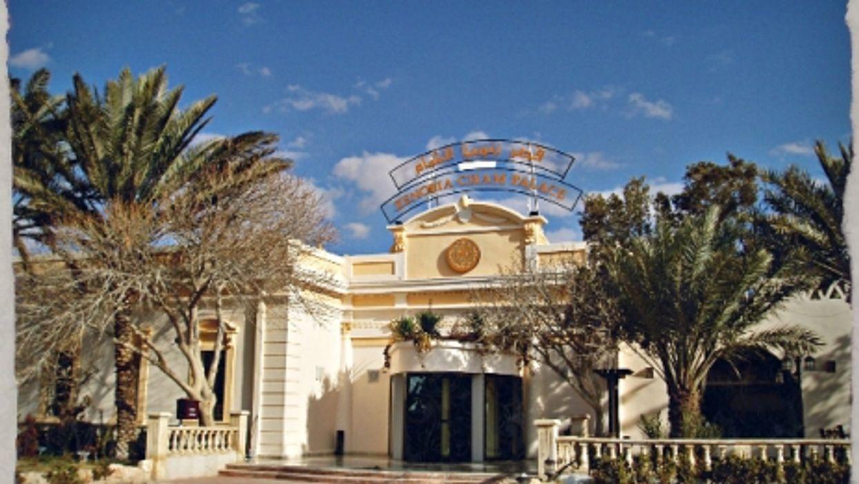 The Zenobia hotel in Palmyra before Syria's civil war began